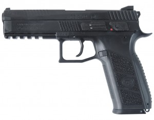 Wiatrówka Pistolet CZ P-09 CO2 GBB 4,5 mm