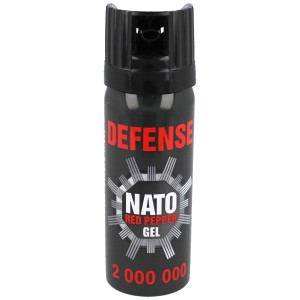 Gaz pieprzowy Sharg Defence Nato Military Gel 50ml Cone